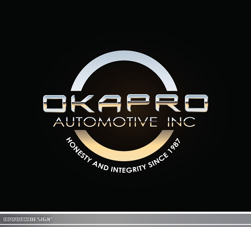 Logo Design by kowreck - Entry No. 28 in the Logo Design Contest New Logo Design for Okapro  Automotive  Inc.