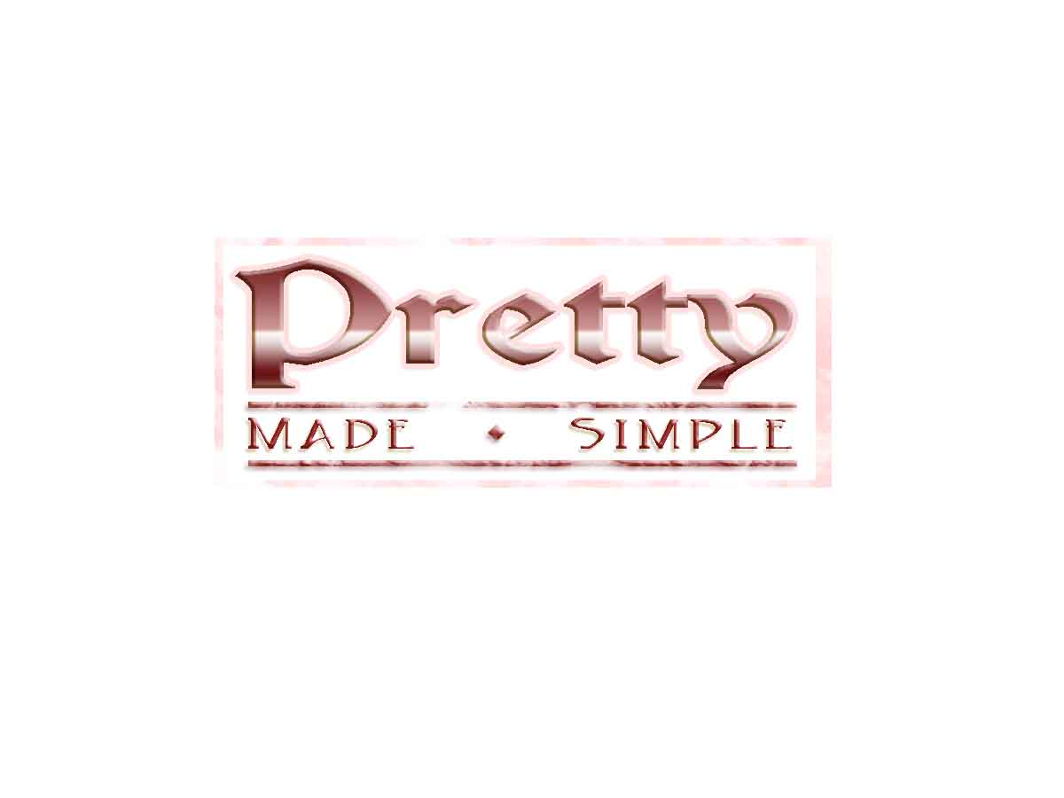 Logo Design by Private User - Entry No. 50 in the Logo Design Contest Pretty Made Simple Logo Design.