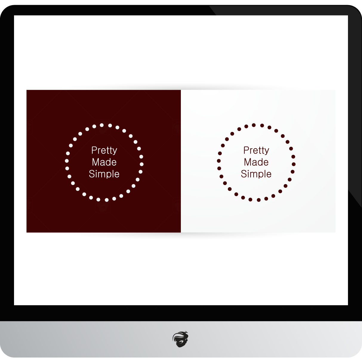 Logo Design by zesthar - Entry No. 54 in the Logo Design Contest Pretty Made Simple Logo Design.