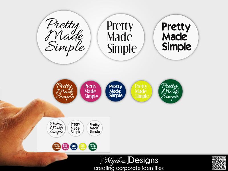 Logo Design by Mythos Designs - Entry No. 56 in the Logo Design Contest Pretty Made Simple Logo Design.