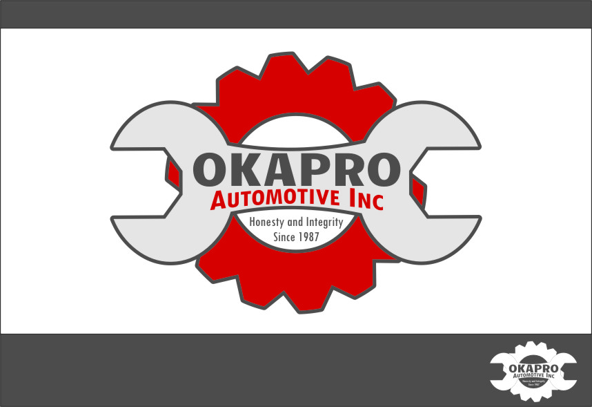Logo Design by RasYa Muhammad Athaya - Entry No. 37 in the Logo Design Contest New Logo Design for Okapro  Automotive  Inc.