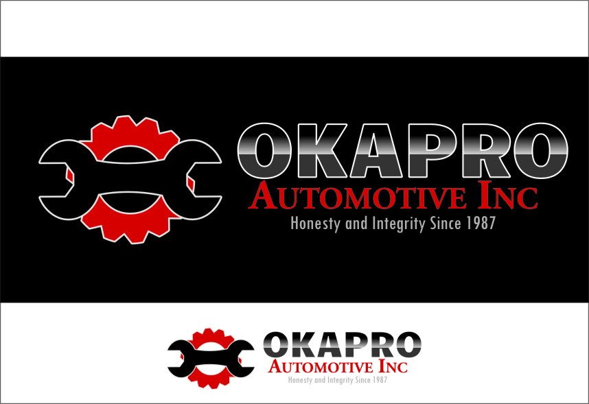 Logo Design by RoSyid Rono-Rene On Java - Entry No. 38 in the Logo Design Contest New Logo Design for Okapro  Automotive  Inc.