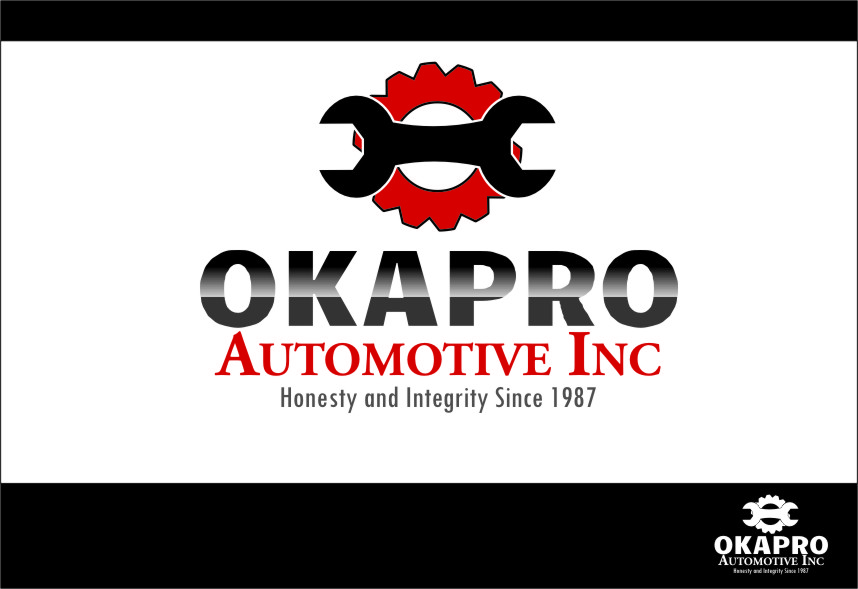 Logo Design by RasYa Muhammad Athaya - Entry No. 40 in the Logo Design Contest New Logo Design for Okapro  Automotive  Inc.