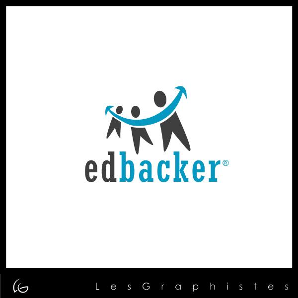 Logo Design by Les-Graphistes - Entry No. 49 in the Logo Design Contest New Logo Design for edbacker.