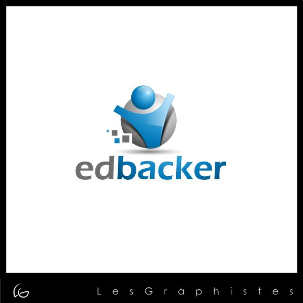 Logo Design by Les-Graphistes - Entry No. 51 in the Logo Design Contest New Logo Design for edbacker.