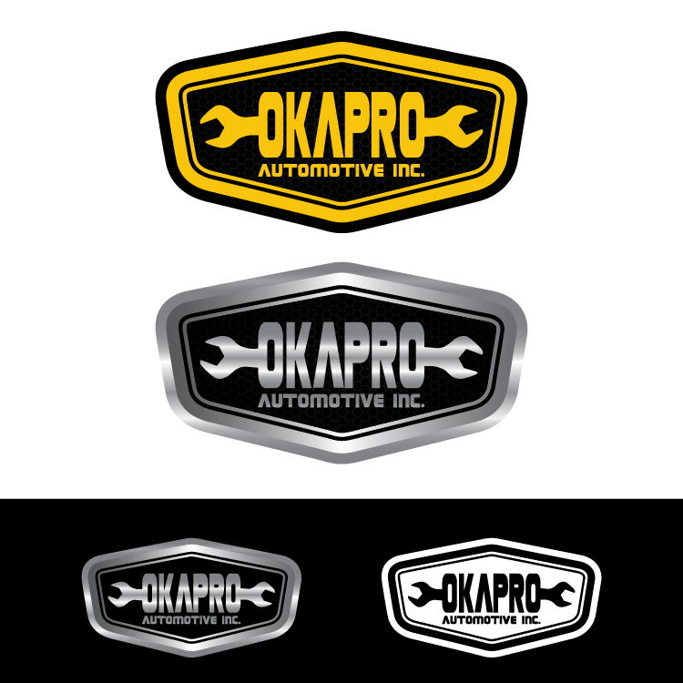 Logo Design by lagalag - Entry No. 41 in the Logo Design Contest New Logo Design for Okapro  Automotive  Inc.