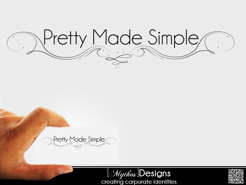 Logo Design by Mythos Designs - Entry No. 57 in the Logo Design Contest Pretty Made Simple Logo Design.