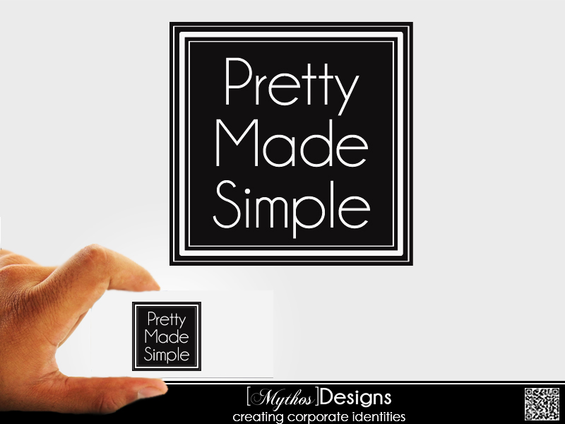 Logo Design by Mythos Designs - Entry No. 58 in the Logo Design Contest Pretty Made Simple Logo Design.