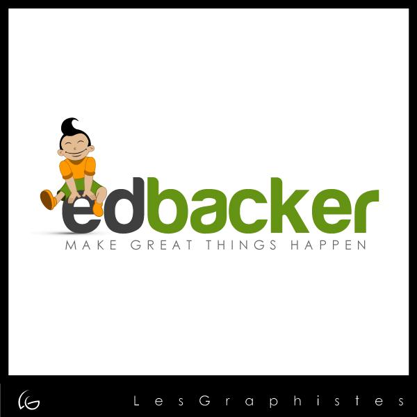 Logo Design by Les-Graphistes - Entry No. 53 in the Logo Design Contest New Logo Design for edbacker.