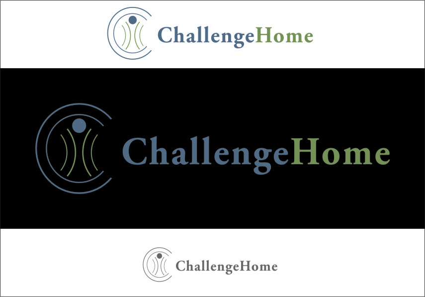 Logo Design by Ngepet_art - Entry No. 46 in the Logo Design Contest Unique Logo Design Wanted for Challenge Home.