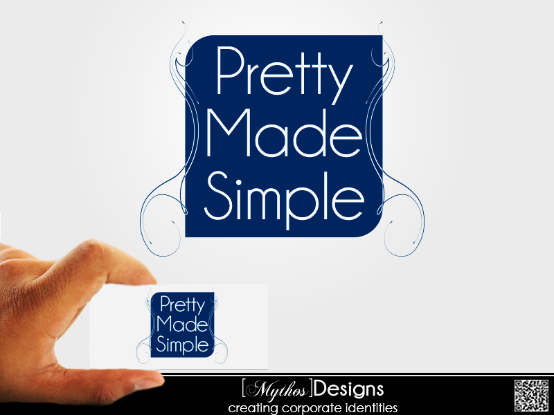 Logo Design by Mythos Designs - Entry No. 59 in the Logo Design Contest Pretty Made Simple Logo Design.