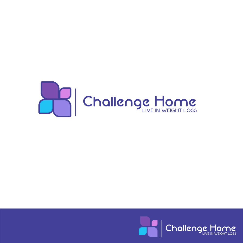Logo Design by Utkarsh Bhandari - Entry No. 48 in the Logo Design Contest Unique Logo Design Wanted for Challenge Home.