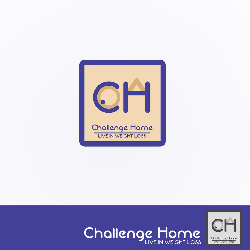 Logo Design by Utkarsh Bhandari - Entry No. 49 in the Logo Design Contest Unique Logo Design Wanted for Challenge Home.