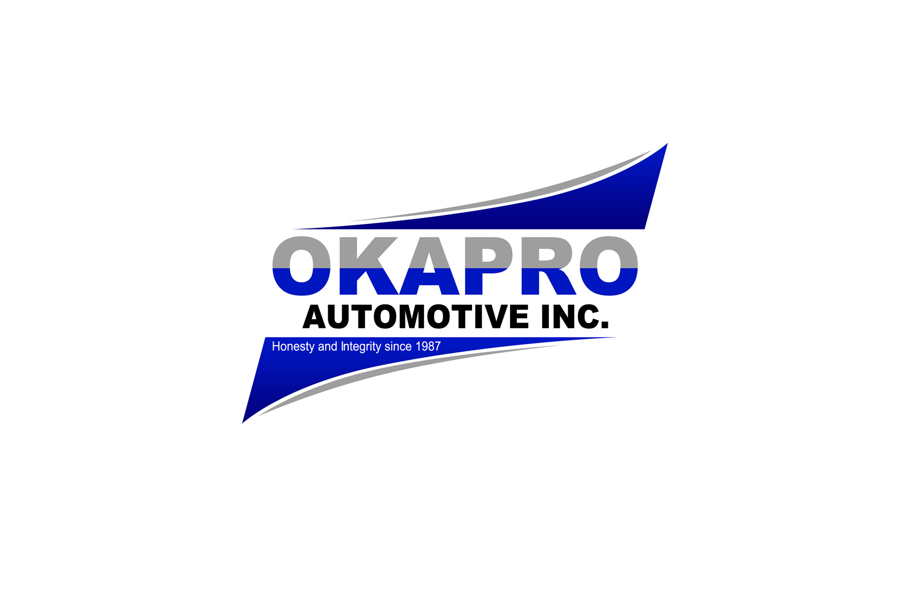 Logo Design by Private User - Entry No. 44 in the Logo Design Contest New Logo Design for Okapro  Automotive  Inc.