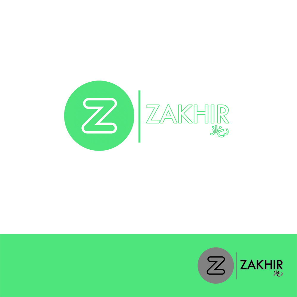 Logo Design by Utkarsh Bhandari - Entry No. 45 in the Logo Design Contest Zakhir Logo Design.