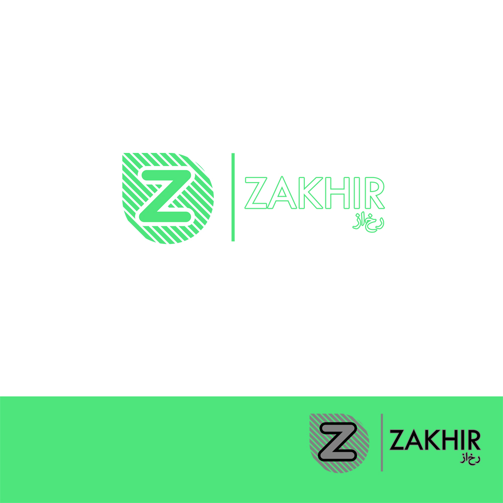 Logo Design by Utkarsh Bhandari - Entry No. 46 in the Logo Design Contest Zakhir Logo Design.