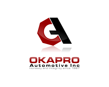 Logo Design by Private User - Entry No. 45 in the Logo Design Contest New Logo Design for Okapro  Automotive  Inc.