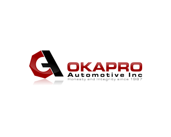 Logo Design by Private User - Entry No. 46 in the Logo Design Contest New Logo Design for Okapro  Automotive  Inc.