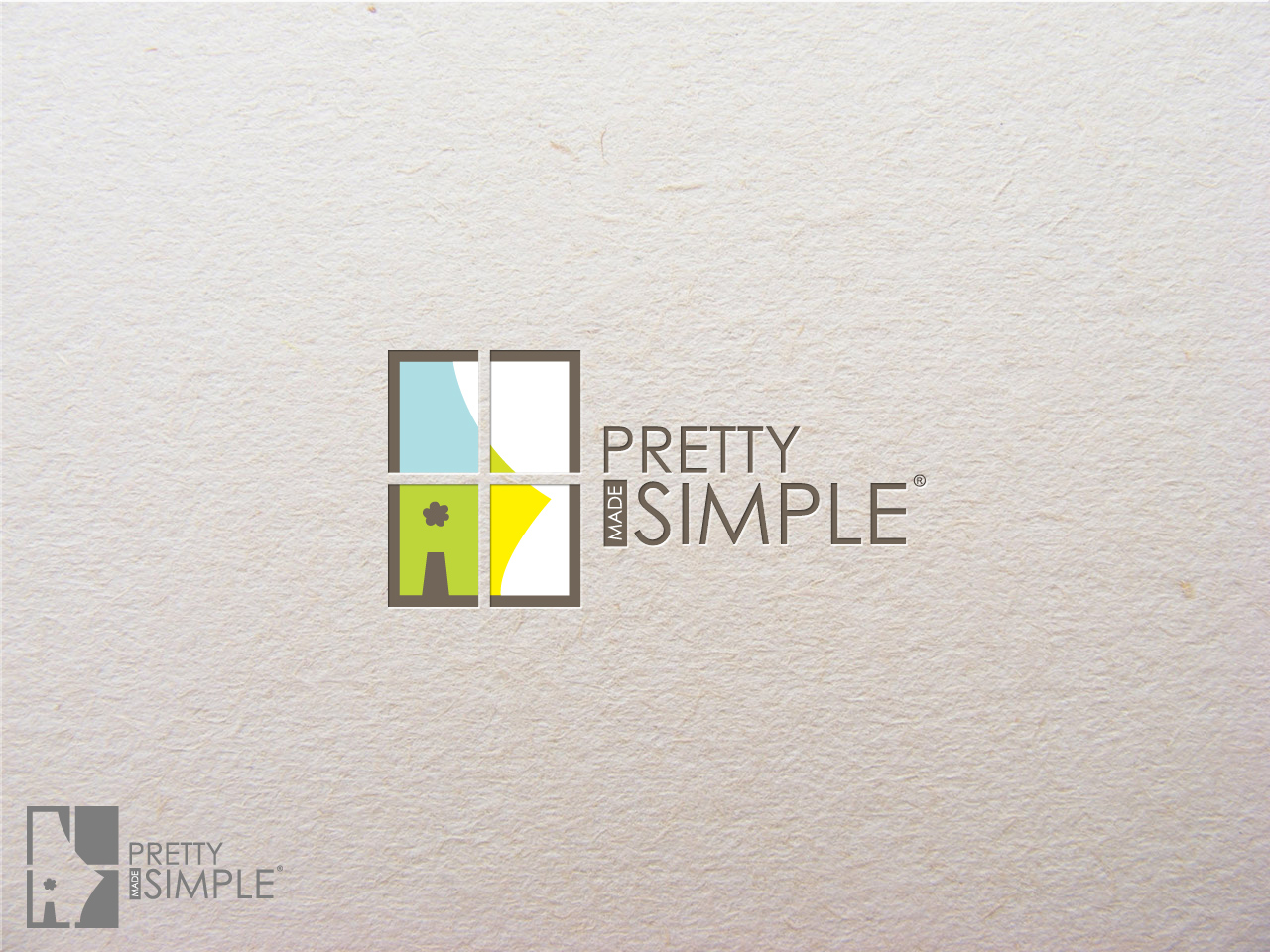 Logo Design by jpbituin - Entry No. 60 in the Logo Design Contest Pretty Made Simple Logo Design.