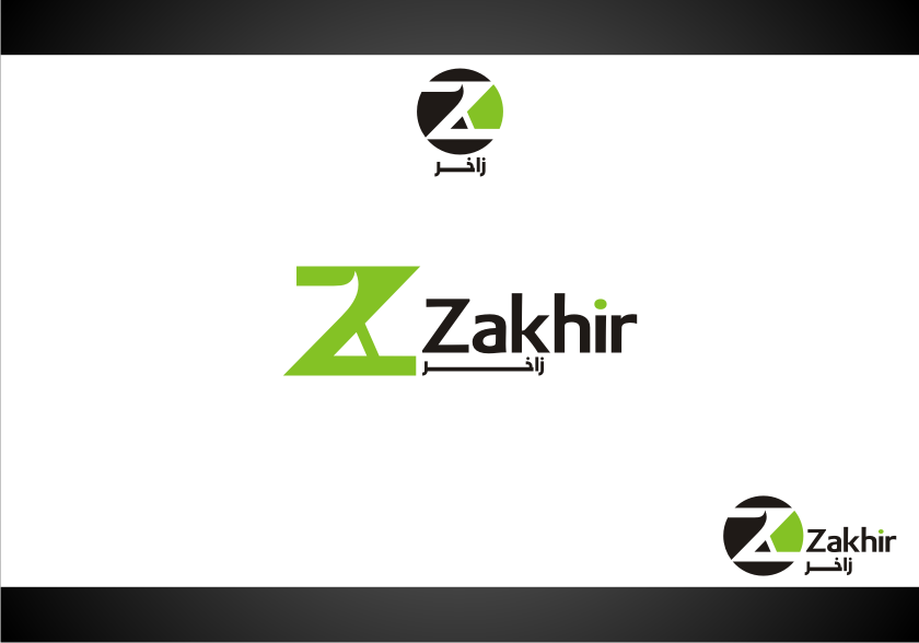 Logo Design by Muhammad Nasrul chasib - Entry No. 47 in the Logo Design Contest Zakhir Logo Design.