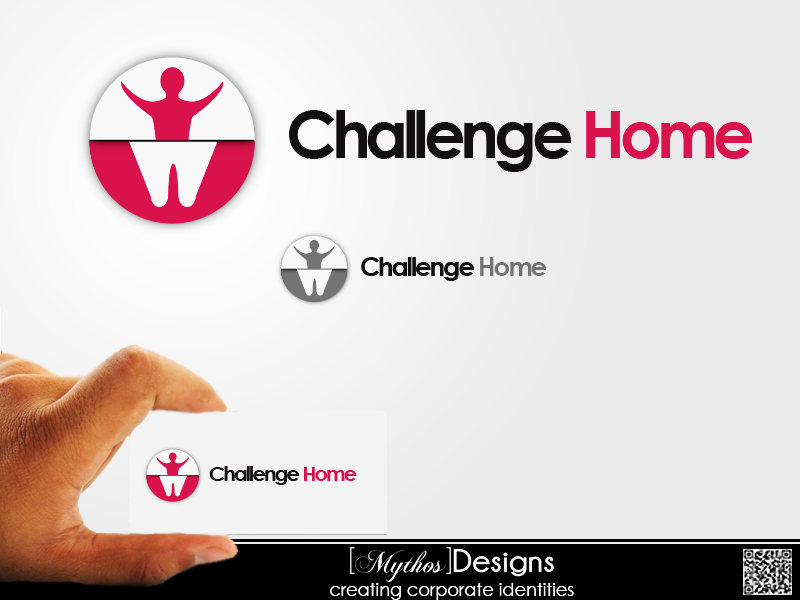 Logo Design by Mythos Designs - Entry No. 54 in the Logo Design Contest Unique Logo Design Wanted for Challenge Home.