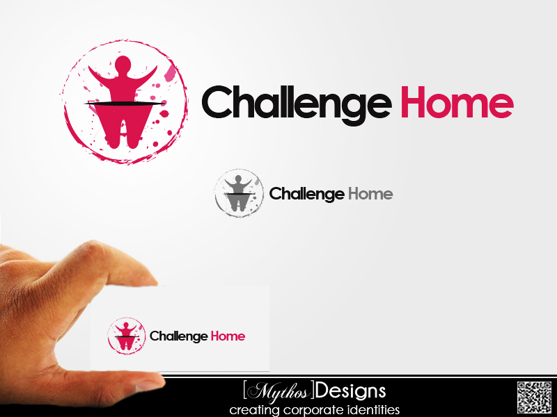 Logo Design by Mythos Designs - Entry No. 55 in the Logo Design Contest Unique Logo Design Wanted for Challenge Home.