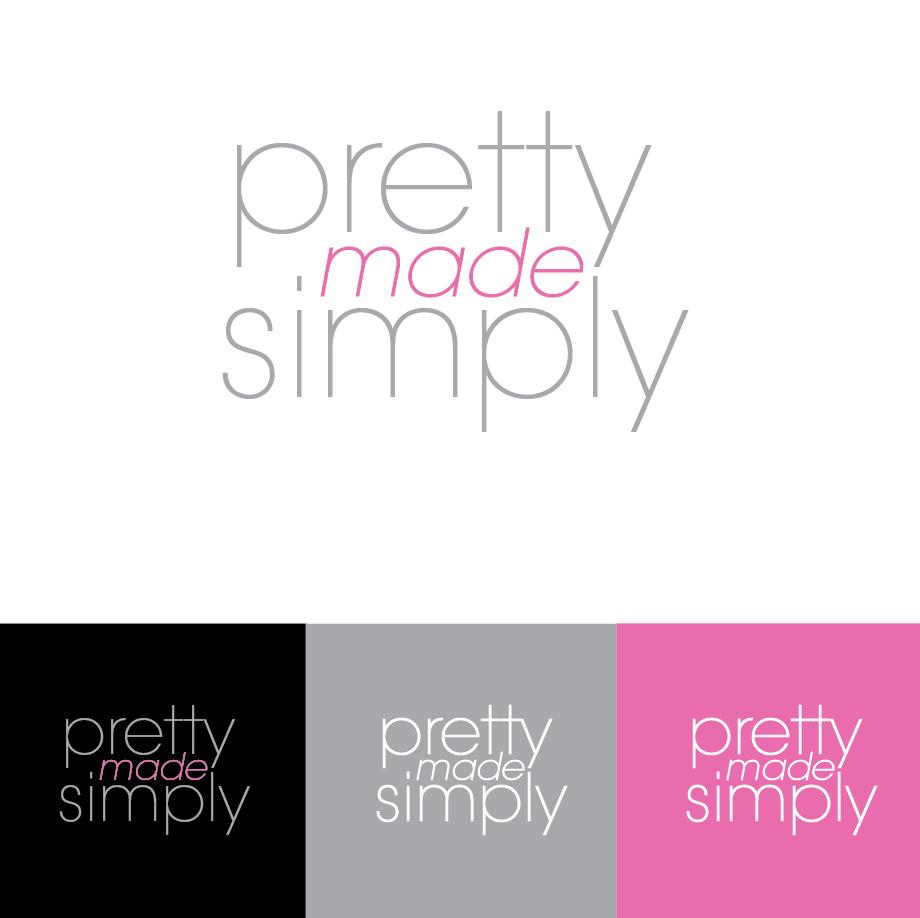 Logo Design by limix - Entry No. 66 in the Logo Design Contest Pretty Made Simple Logo Design.