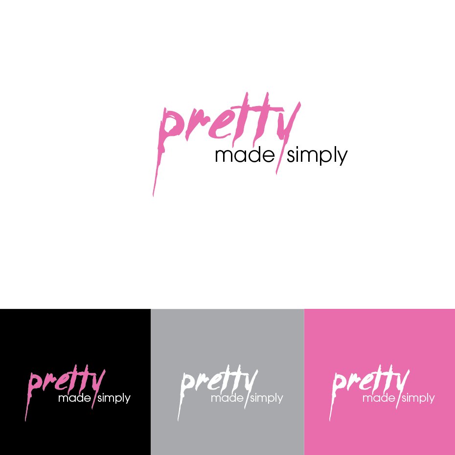 Logo Design by limix - Entry No. 68 in the Logo Design Contest Pretty Made Simple Logo Design.