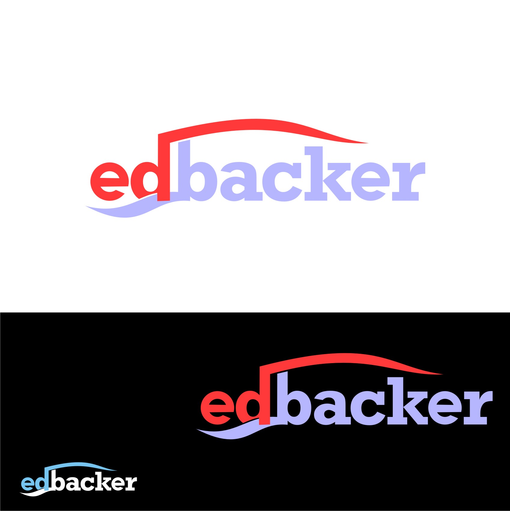 Logo Design by Private User - Entry No. 62 in the Logo Design Contest New Logo Design for edbacker.