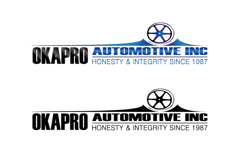 Logo Design by Vasil Boyadzhiev - Entry No. 60 in the Logo Design Contest New Logo Design for Okapro  Automotive  Inc.