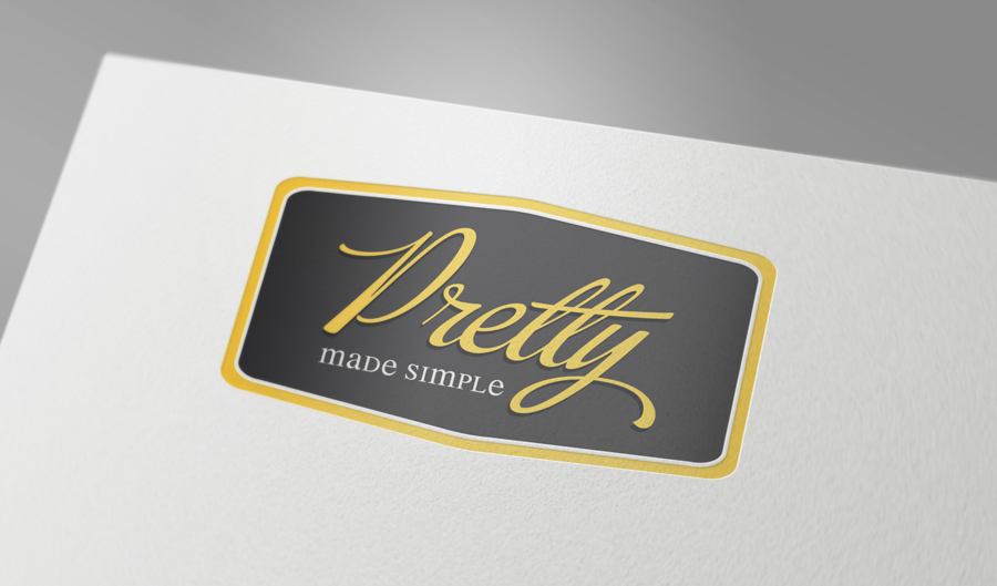 Logo Design by he4d - Entry No. 72 in the Logo Design Contest Pretty Made Simple Logo Design.