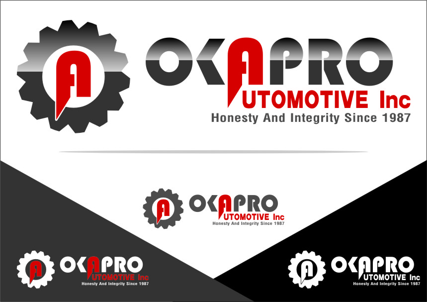 Logo Design by RasYa Muhammad Athaya - Entry No. 62 in the Logo Design Contest New Logo Design for Okapro  Automotive  Inc.