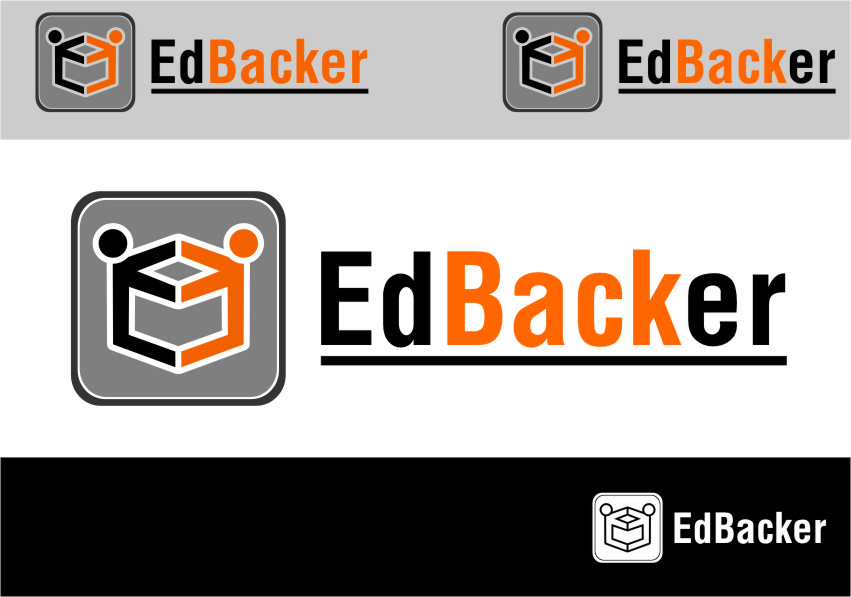 Logo Design by Ngepet_art - Entry No. 63 in the Logo Design Contest New Logo Design for edbacker.