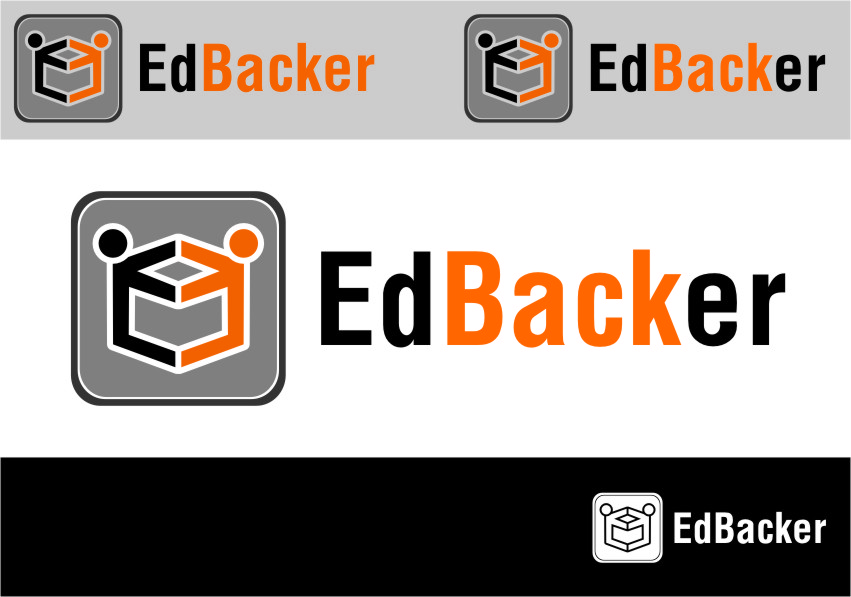 Logo Design by RasYa Muhammad Athaya - Entry No. 64 in the Logo Design Contest New Logo Design for edbacker.