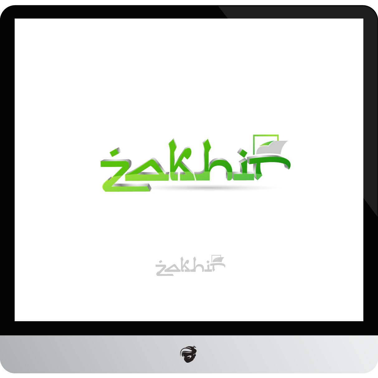 Logo Design by zesthar - Entry No. 61 in the Logo Design Contest Zakhir Logo Design.