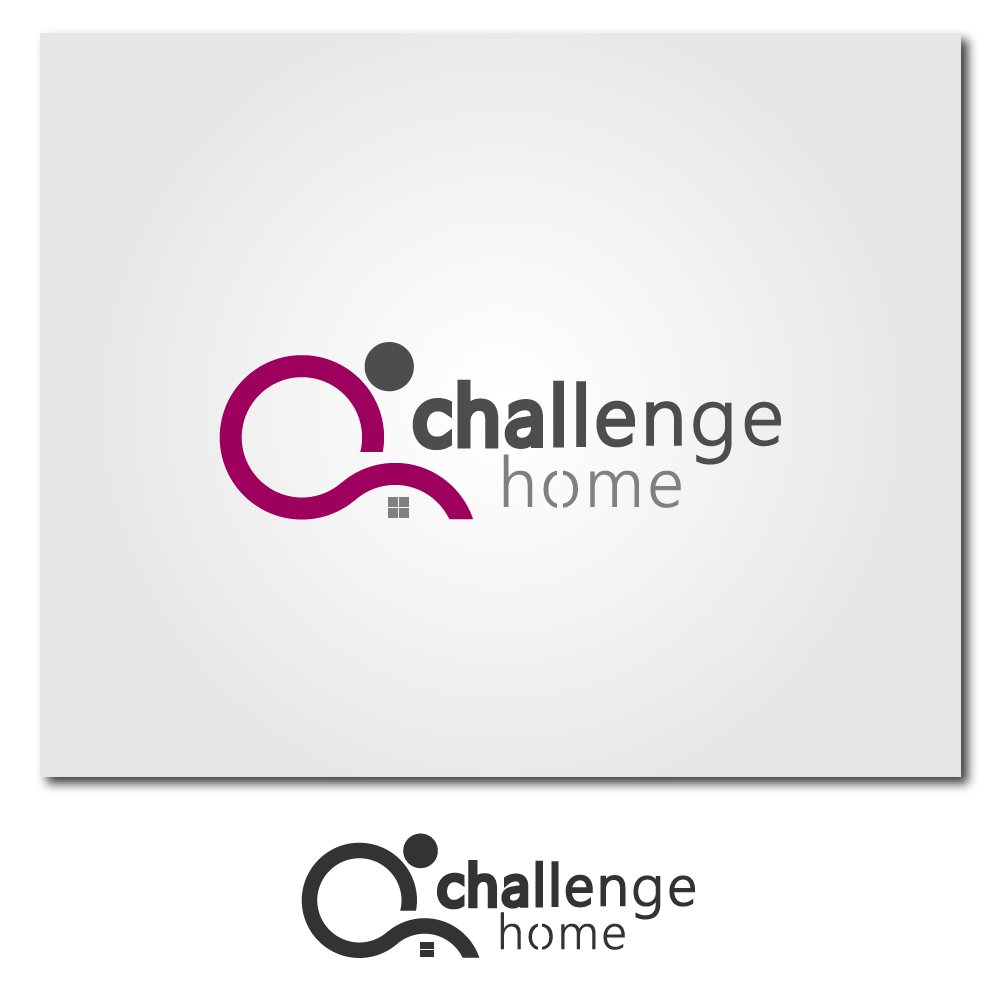 Logo Design by rockin - Entry No. 61 in the Logo Design Contest Unique Logo Design Wanted for Challenge Home.