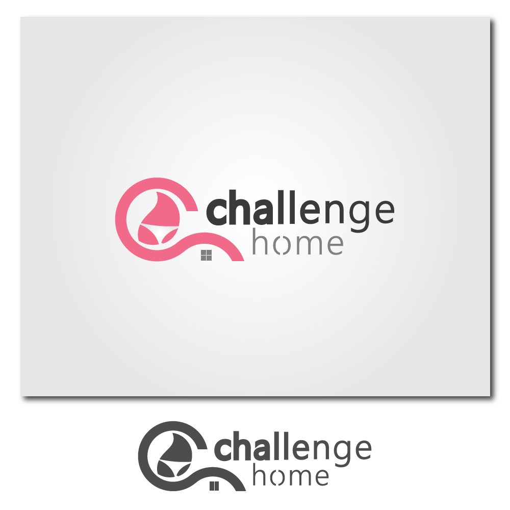 Logo Design by rockin - Entry No. 62 in the Logo Design Contest Unique Logo Design Wanted for Challenge Home.