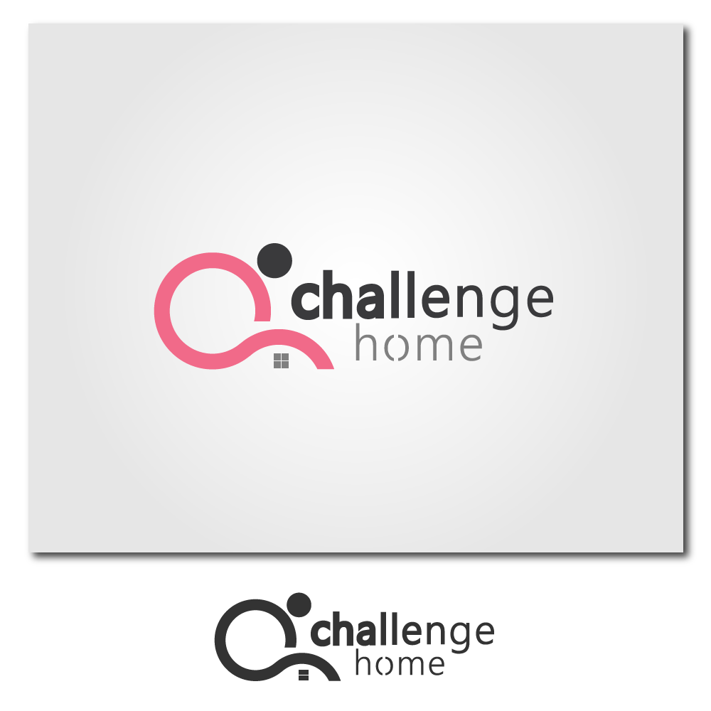 Logo Design by rockin - Entry No. 63 in the Logo Design Contest Unique Logo Design Wanted for Challenge Home.
