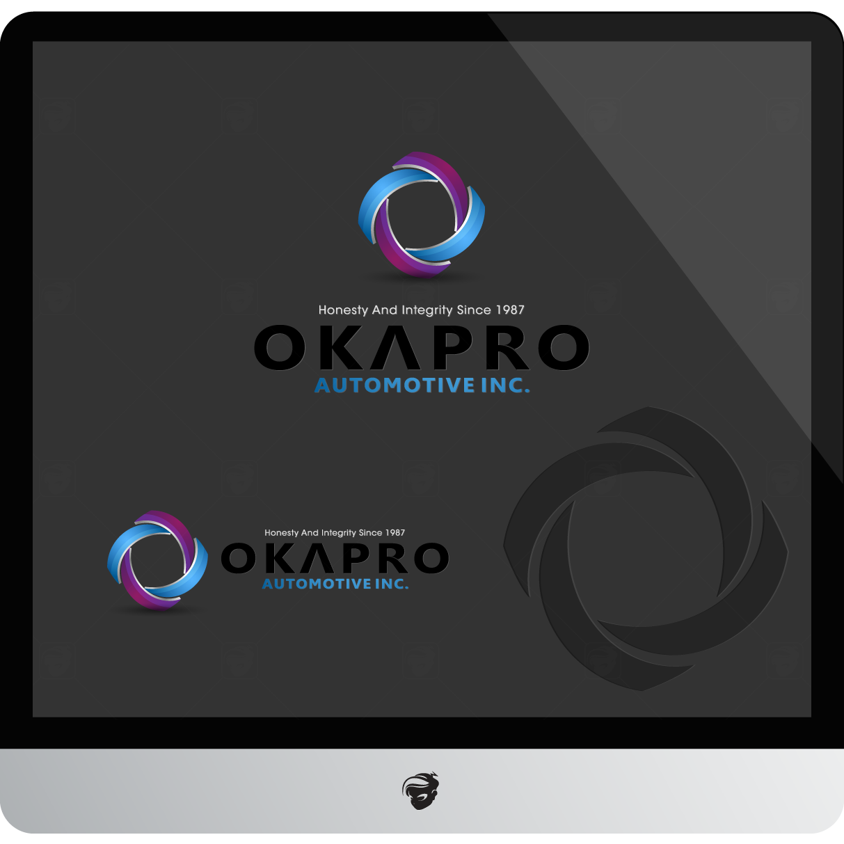 Logo Design by zesthar - Entry No. 66 in the Logo Design Contest New Logo Design for Okapro  Automotive  Inc.