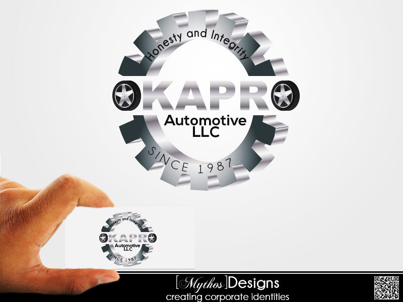 Logo Design by Mythos Designs - Entry No. 69 in the Logo Design Contest New Logo Design for Okapro  Automotive  Inc.