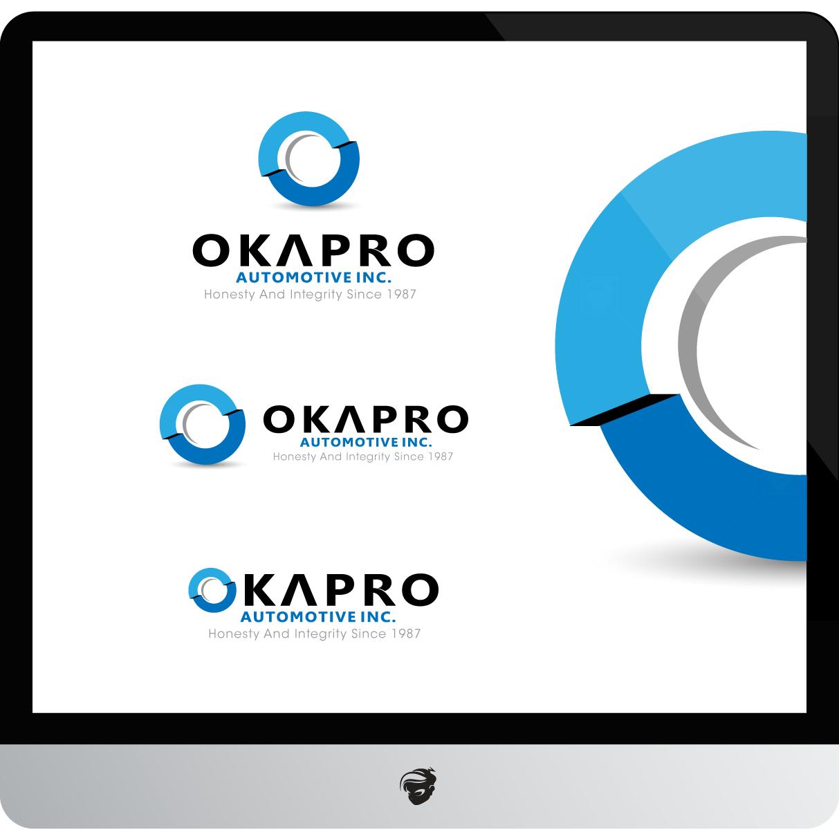 Logo Design by zesthar - Entry No. 70 in the Logo Design Contest New Logo Design for Okapro  Automotive  Inc.