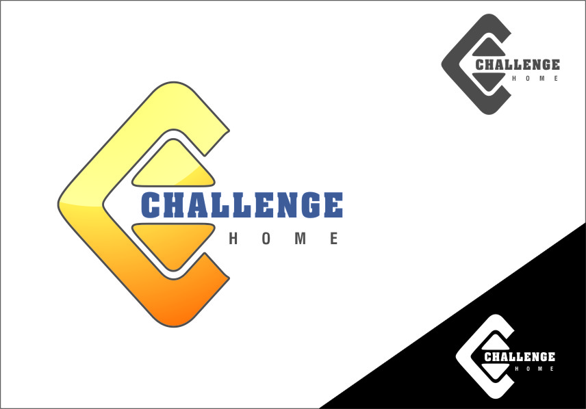 Logo Design by RasYa Muhammad Athaya - Entry No. 67 in the Logo Design Contest Unique Logo Design Wanted for Challenge Home.