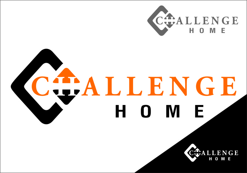 Logo Design by Ngepet_art - Entry No. 70 in the Logo Design Contest Unique Logo Design Wanted for Challenge Home.