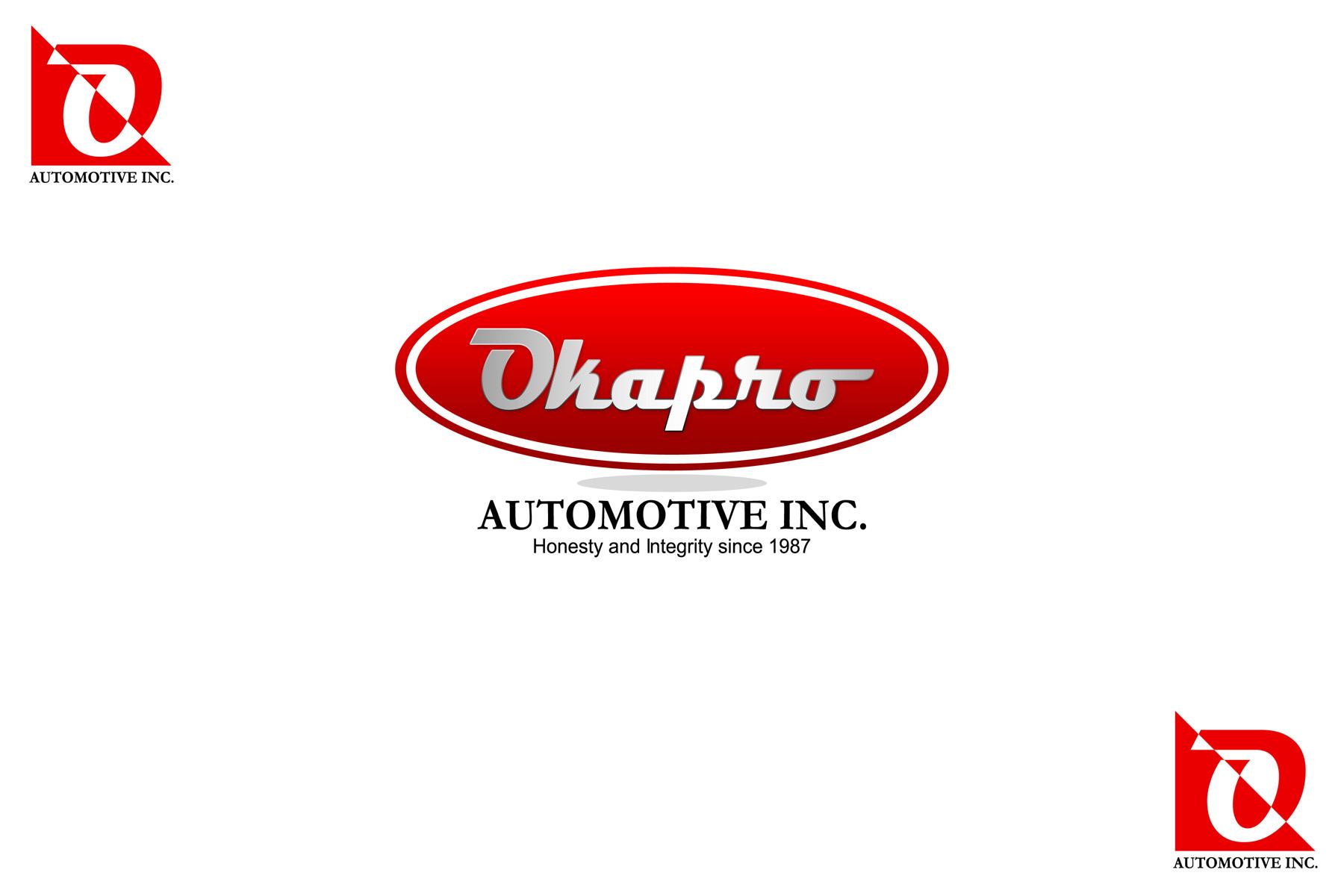 Logo Design by Private User - Entry No. 72 in the Logo Design Contest New Logo Design for Okapro  Automotive  Inc.