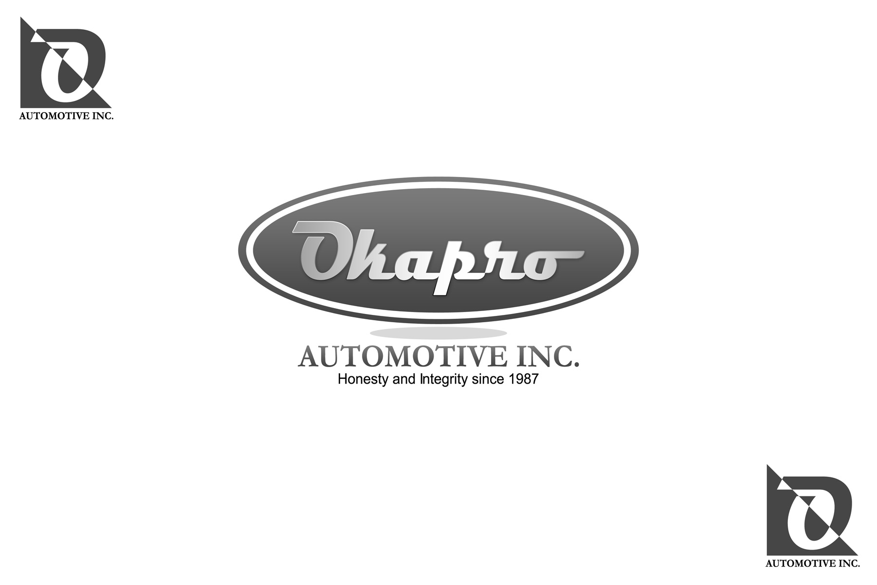 Logo Design by Private User - Entry No. 73 in the Logo Design Contest New Logo Design for Okapro  Automotive  Inc.