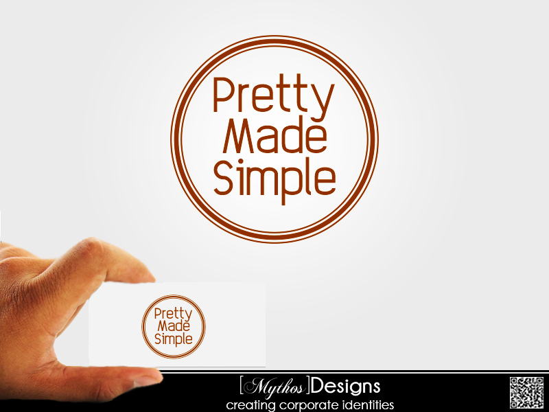 Logo Design by Mythos Designs - Entry No. 73 in the Logo Design Contest Pretty Made Simple Logo Design.