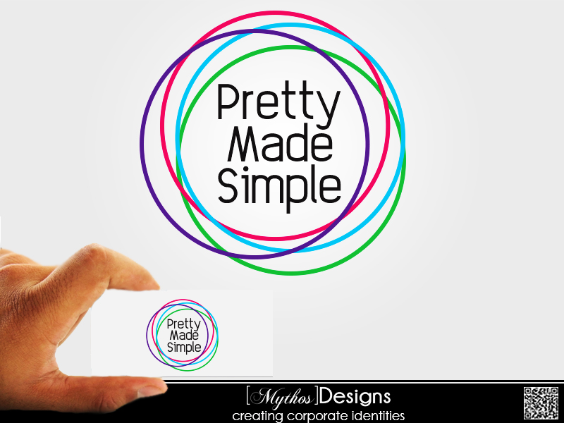 Logo Design by Mythos Designs - Entry No. 75 in the Logo Design Contest Pretty Made Simple Logo Design.