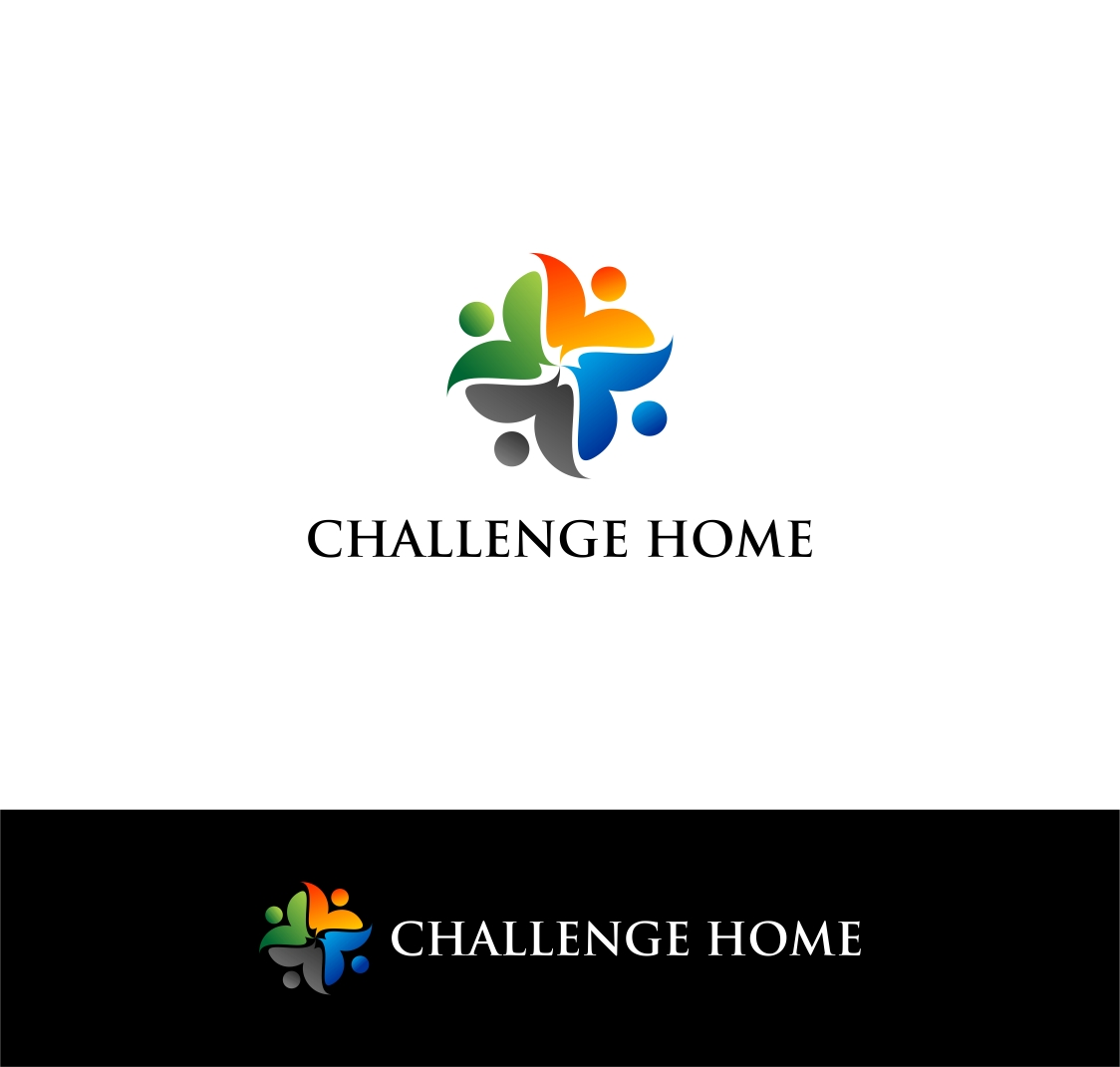 Logo Design by haidu - Entry No. 73 in the Logo Design Contest Unique Logo Design Wanted for Challenge Home.
