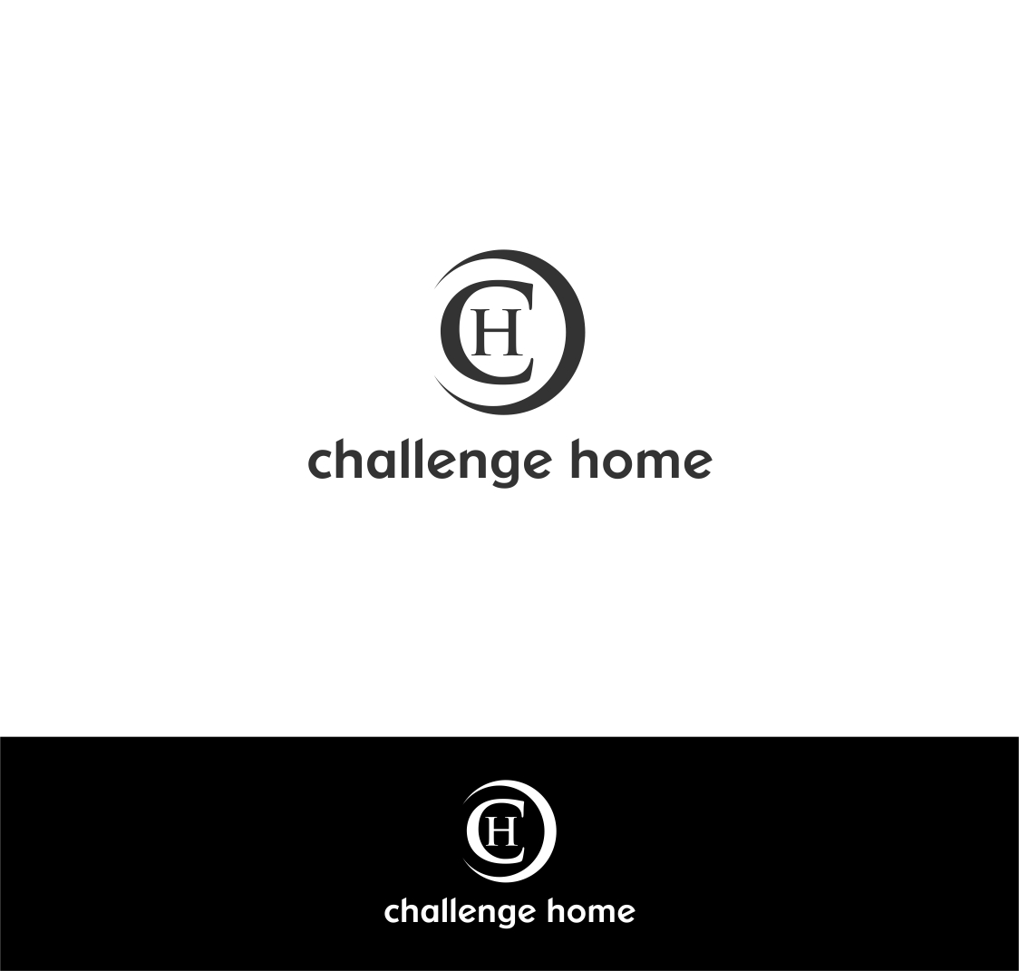 Logo Design by haidu - Entry No. 74 in the Logo Design Contest Unique Logo Design Wanted for Challenge Home.