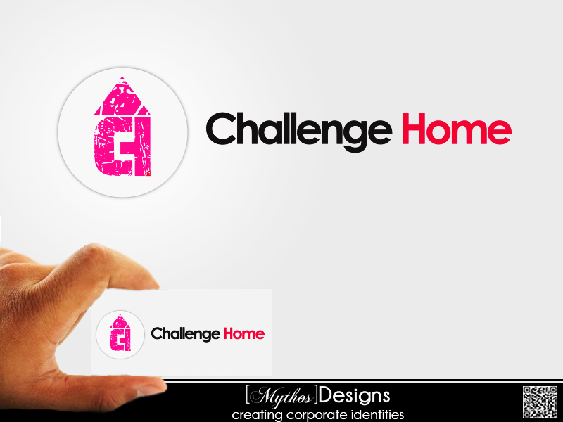 Logo Design by Mythos Designs - Entry No. 75 in the Logo Design Contest Unique Logo Design Wanted for Challenge Home.